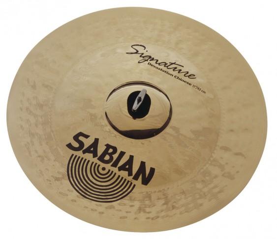 "SABIAN 17"" Vault Appice Devastation Chinese Cymbal"