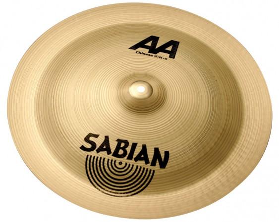 "Sabian 18"" AA Chinese Brilliant Finish"