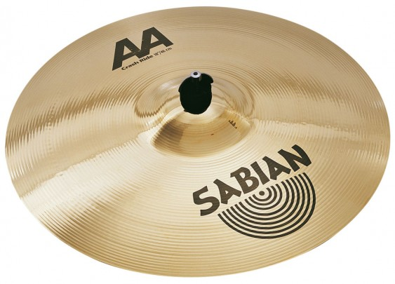"SABIAN 18"" AA Crash Ride Brilliant Cymbal"