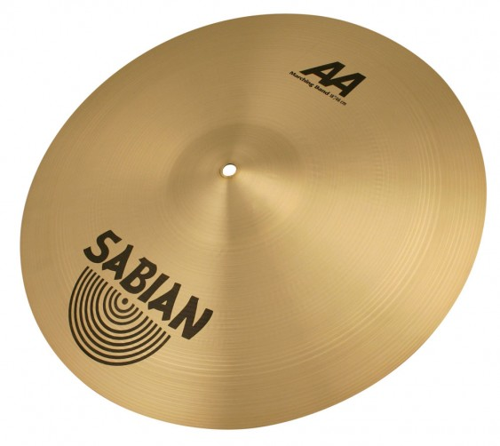 "SABIAN 18"" AA Marching Band Brilliant Pair Cymbal"