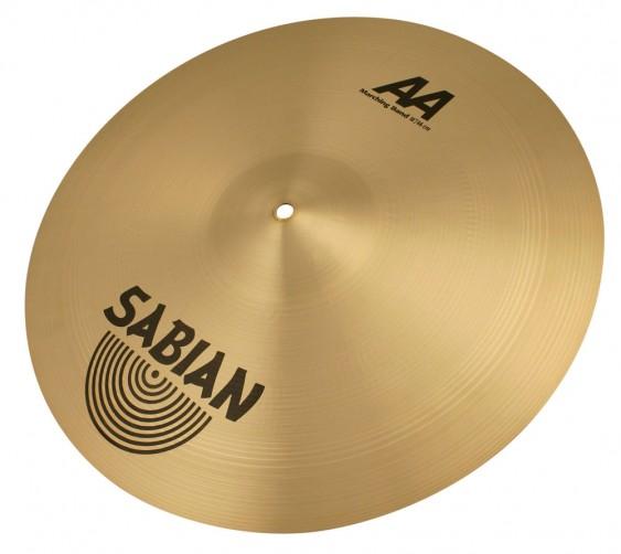 "SABIAN 20"" AA Marching Band Brilliant Pair Cymbal"