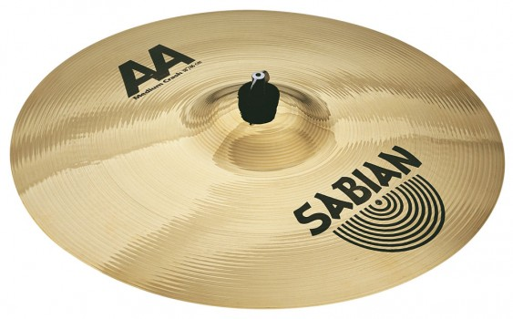 "SABIAN 18"" AA Medium Crash Brilliant Cymbal"
