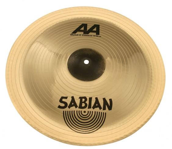 "SABIAN 18"" AA Metal-X Chinese Brilliant Cymbal"