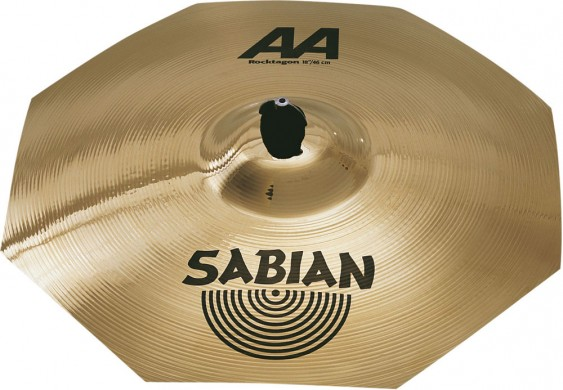 "SABIAN 18"" AA Rocktagon Brilliant Cymbal"