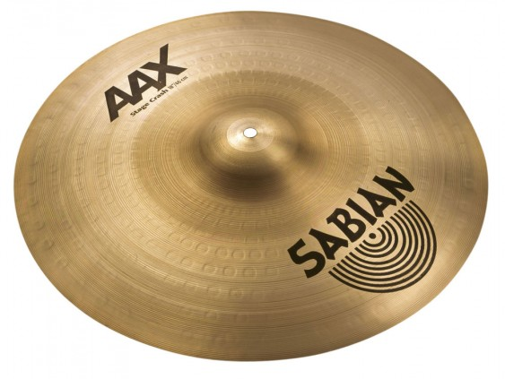 "Sabian 18"" AAX Stage Crash Brilliant Finish"