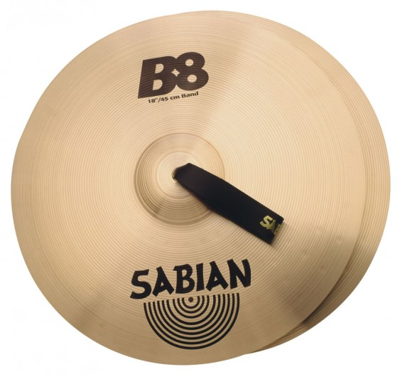 """SABIAN 18"""" B8 Band Pair Cymbal"""