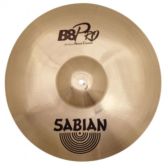 "SABIAN 18"" B8 Pro Rock Crash Cymbal"