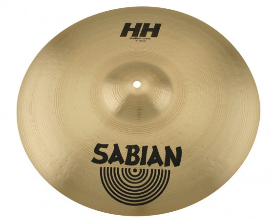 "Sabian 18"" HH Medium Crash Brilliant Finish"