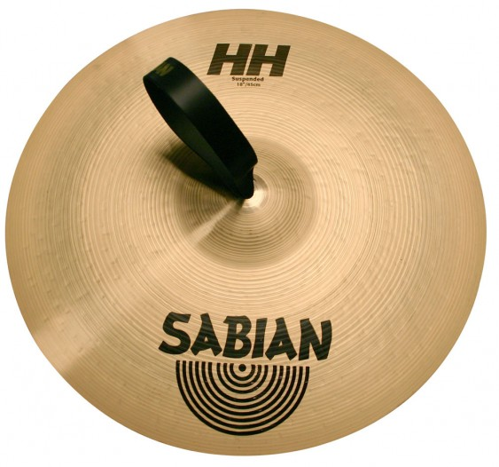 """SABIAN 16"""" HH Suspended Brilliant Cymbal"""