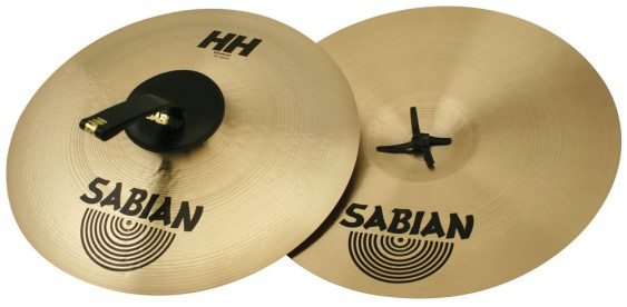 "SABIAN 18"" HH Viennese Brilliant Pair Cymbal"
