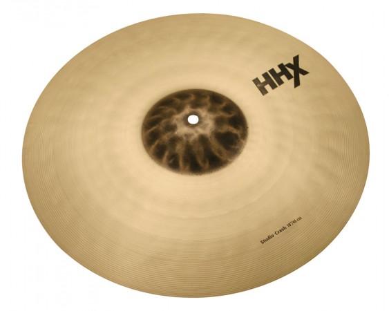 "SABIAN 18"" HHX Studio Crash Brilliant Cymbal"