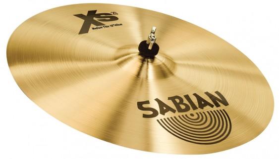 "SABIAN 18"" Xs20 Medium Thin Crash Brilliant Cymbal"