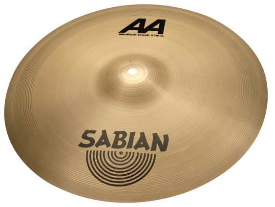 "SABIAN 19"" AA Medium Crash Cymbal"
