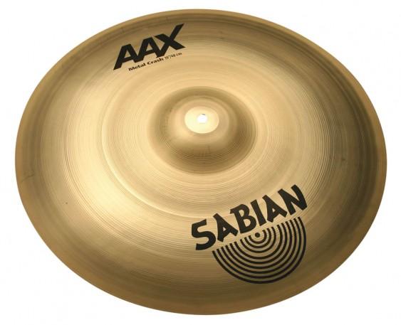 """SABIAN 19"""" AAX Metal Crash Brilliant Cymbal"""