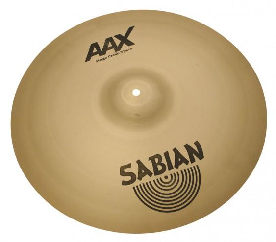 """SABIAN 19"""" AAX Stage Crash Cymbal"""