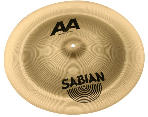 "Sabian 20"" AA Chinese Brilliant Finish"