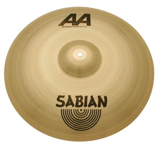 "SABIAN 20"" AA Medium Crash Cymbal"