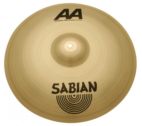 "SABIAN 20"" AA Medium Thin Crash Cymbal"