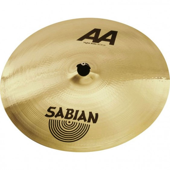 "SABIAN 20"" AA Tight Ride Brilliant Cymbal"