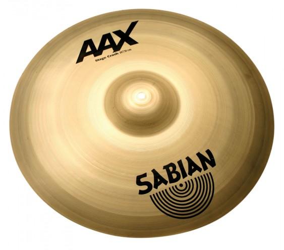 """SABIAN 20"""" AAX Stage Crash Brilliant Cymbal"""