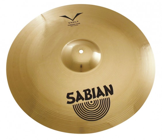 "SABIAN 20 1/2"" Vault Chad Smith Explosion Crash Cymbal"