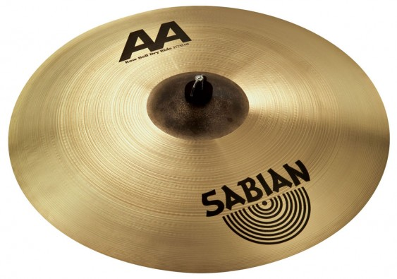 "SABIAN 21"" AA Raw Bell Dry Ride Brilliant Cymbal"