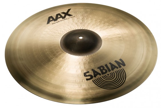 "SABIAN 21"" AAX Raw Bell Dry Ride Cymbal"