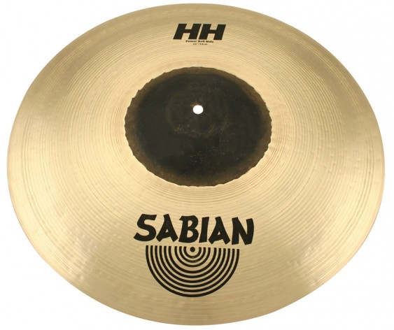 "SABIAN 22"" HH Power Bell Ride Brilliant Cymbal"
