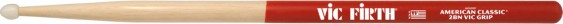 Vic Firth American Classic® 2BN Nylon Tip Vic Grip Hickory Drumsticks