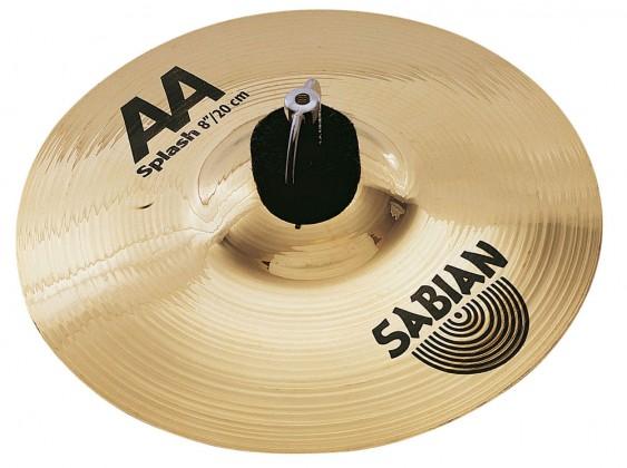 "SABIAN 6"" AA Splash Brilliant Cymbal"