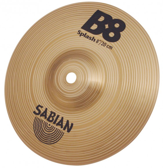 "SABIAN 6"" B8 Splash Cymbal"