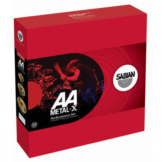 SABIAN AA Metal-X Performance Cymbal Set