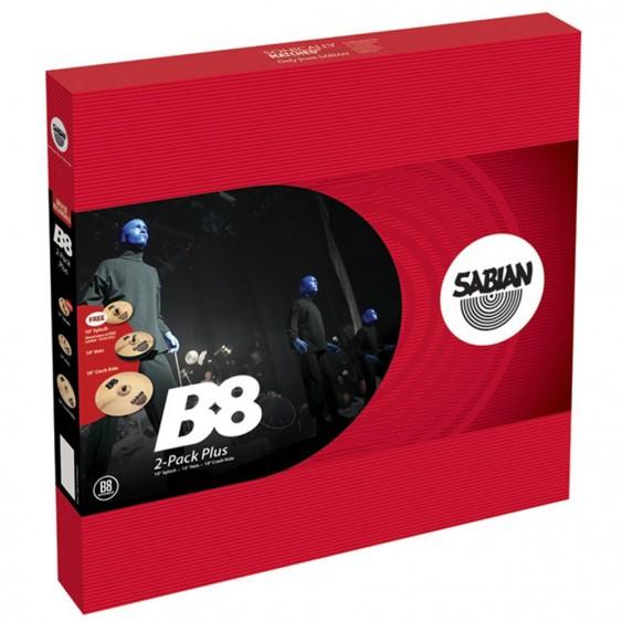 SABIAN B8 2-Cymbal Pack w/o Bag