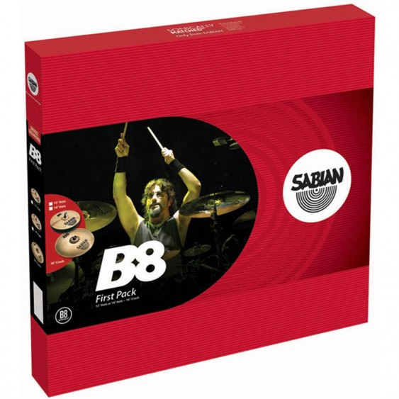 "SABIAN B8 First Cymbal Pack w/ 14"" Hats"