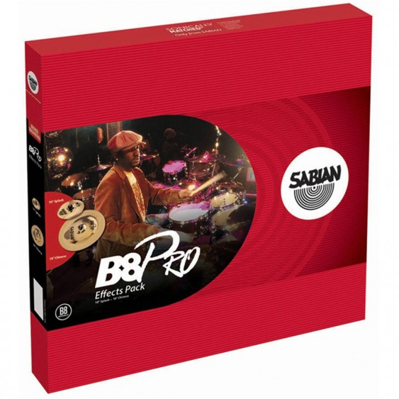SABIAN B8 Pro Effects Cymbal Pack