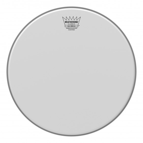 "Remo 13"" Coated Ambassador Classic Fit Drumhead"
