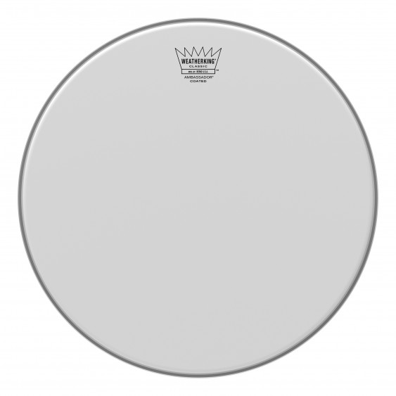 "Remo 14"" Coated Ambassador Classic Fit Drumhead"