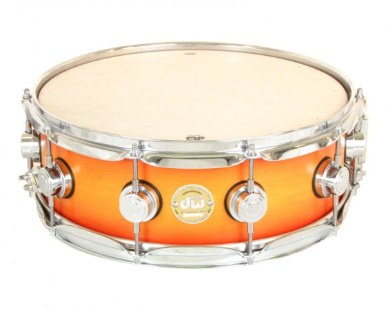 DW Drums Collectors Series 5 x 14 Maple Snare Drum Classic Burst Natural