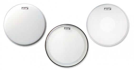 Aquarian 10'',12'',14'' Focus-X Texture Coated Drumhead Prepack