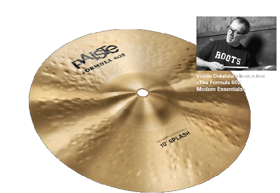 Paiste 10 Formula 602 Modern Essentials Splash