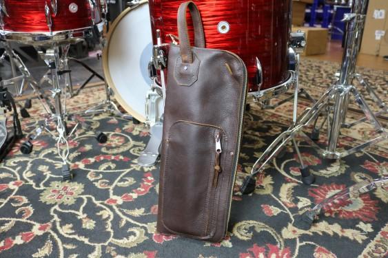 Woodshed Leatherworks Basic Brown Leather Stick Bag