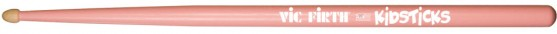 "Vic Firth ""Kidsticks"" Pink Hickory Drumsticks"