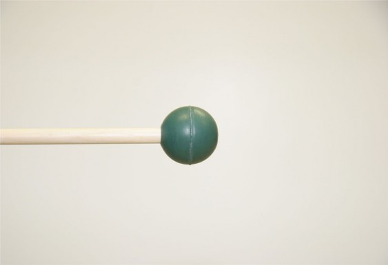 Mike Balter Gradioso Series Round Dark Green Rubber Medium Hard Birch Mallets