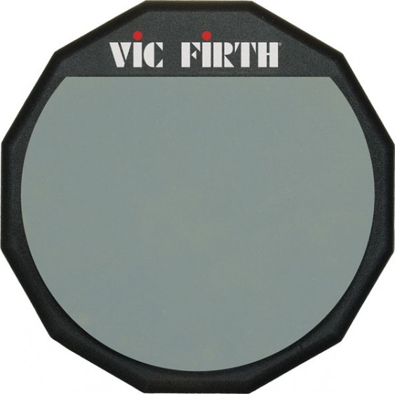 "Vic Firth 12"" Single Sided Practice Pad"