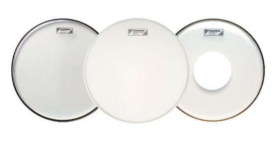 Aquarian 24'' Response 2 Clear w/Power Dot Bass Drumhead