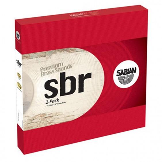 SABIAN SBr 2-Cymbal Pack