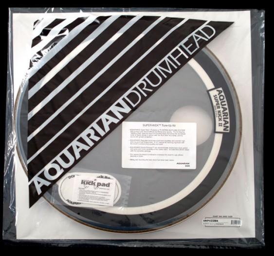 Aquarian 18'' Regulator/Super-Kick II Bass Drumhead Prepack