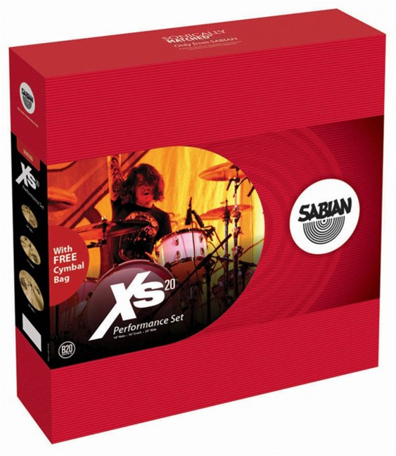 SABIAN Xs20 Performance Cymbal Set w/o Bag
