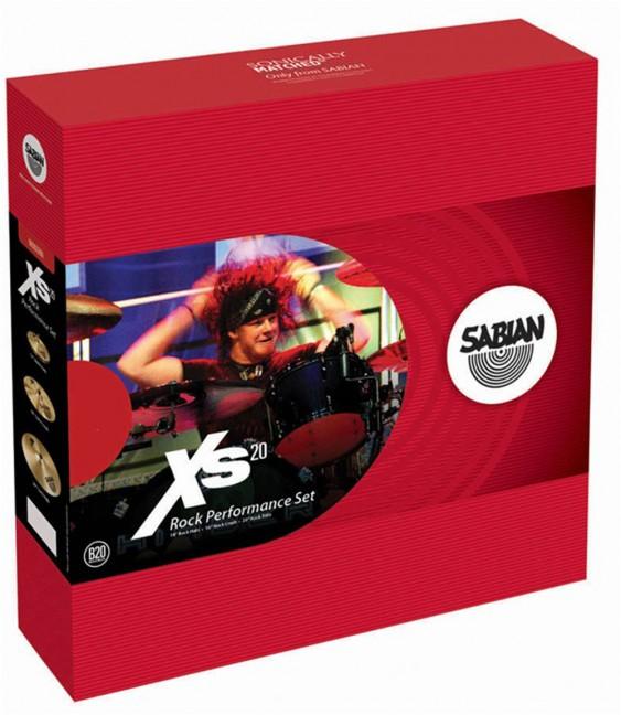 SABIAN Xs20 Rock Performance Cymbal Set w/o Bag