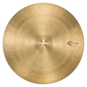 "Crescent By Sabian 22"" Wide Ride Cymbal"